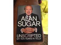 Alan sugar hardback book