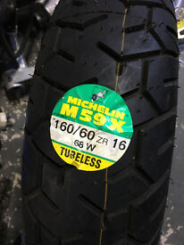 Ducati Paso 750 Michelin tyres New Old Stock