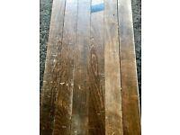 Reclaimed Solid Beech Flooring - 160 m2 in stock!