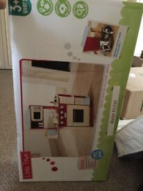 Brand New In Box Wooden Child's Kitchen For Sale - will accept offers