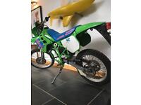 Rare KDX 125cc Enduro Show-bike project!