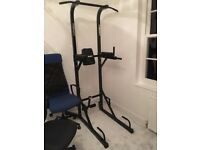 Mirafit VKR Power Tower, Pull Up Knee Lift Home Gym