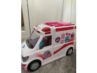 Barbie Clinic care van - Ambulance set