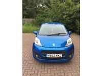 2012 Peugeot 107 active- low mileage and great condition!