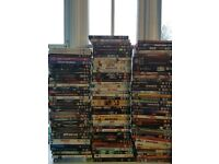 Over 100 DVD's