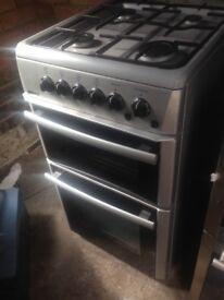 Beko silver Gas cooker 50cm...,,Free delivry