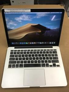 "13"" 2015 MacBook Retina intel i5, 8g/256g ssd OS 10.14.3"
