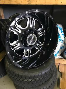 20 INCH VISION RAGE WHEELS -- 8X170 -- CLEARANCE 20X12