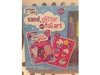 Smiggle Sand, Glitter & Foil Art!