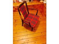 Teak / Gplan / Tartan Chairs