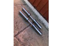 Solid Olympic Dumbbells Bars Weights. •Can Deliver*