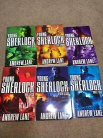 Young Sherlock Holmes adventure books