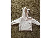 Baby's fleece jacket