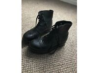UK Military Drill Boots Size 7