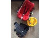 Car seat, Baby carrier and Baby Bath Aid Bargain!!! (pick up only)
