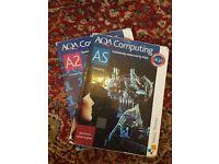 AS and A2 AQA Computing books