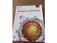 USED Inorganic Chemistry Textbook, Shriver And Atkins, 5th Edition