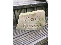 Garden stones