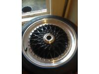 """BBS allow wheel 18"""" x4 with good tyres"""