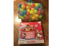 Hello Kitty Sensory Play Den & Playballs