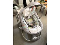 Ingenuity automatic baby swing rocker