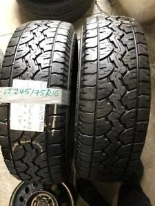 LT245/75R16 GT RADIAL All Terrain Tires (Pair) Calgary Alberta Preview