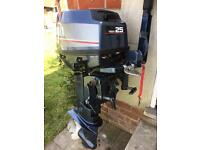 Yamaha 25hp outboard motor
