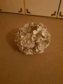 Flower pendant shade