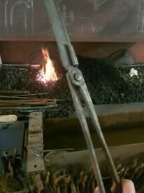 Blacksmith tongs set