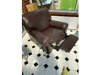 Quality Leather Recliner - Electric