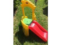 Climb and slide little tikes outdoor toy