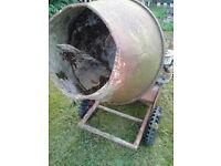 bar o mix -cement mixer -spares or repair