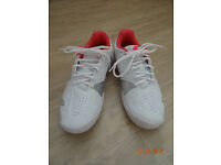 Ladies Barbolat Tennis Shoes, size 7.5 (UK), only worn once.