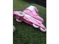 Girls roller skates