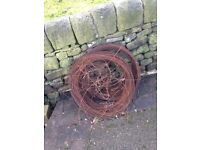 Steel fencing wire massive amount new