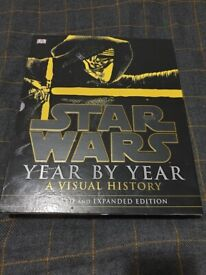 Star Wars Year by Year: A Visual History book (new and unused)