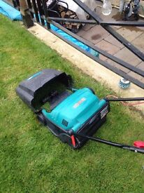 Bosh 32F electric lawnmower with lead