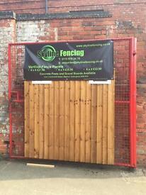 Wooden Fence Panels Heavy Duty, New Verti Lap, 6x5 £23.00 Each
