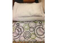 Bedding pack - duvet and pillow with covers