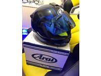 Arai Axces 2.. Large Bike Helmet, Field Blue