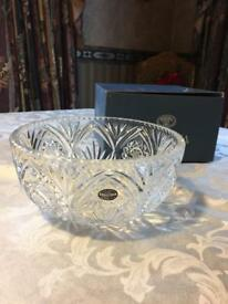 BOHEMIA CRYSTAL Bowl - NEW In Box