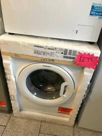 Brand new Hotpoint 8kg smart washing machine RRP £469.99