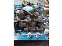 Intel i5 Processor and fan