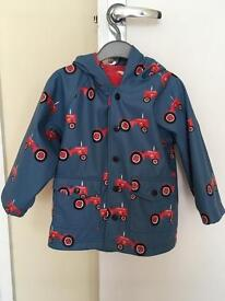 Hatley waterproof coat age 2