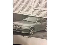 SAAB roof bars