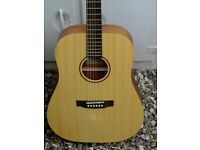Acoustic Guitar~Cort Earth-Grand OP, Solid Spruce Top
