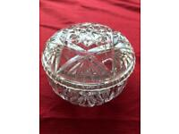 Cut glass dish