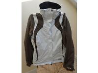 Ladies Ski Suit, Peak Performance 'HiPE' Waterproof and Breathable. Medium jacket, small salopettes