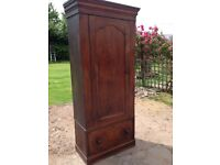 Antique solid wood cupboard