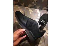 Valentino Garavani Triple Camo Army Print Rockrunners - Men shoes Black Suede